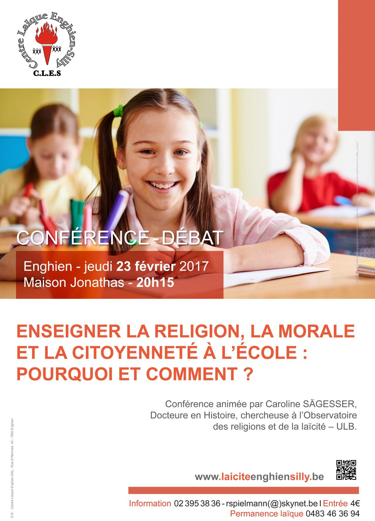 Laïcité Belgique - Centre Laïque Enghien-Silly - enseignement