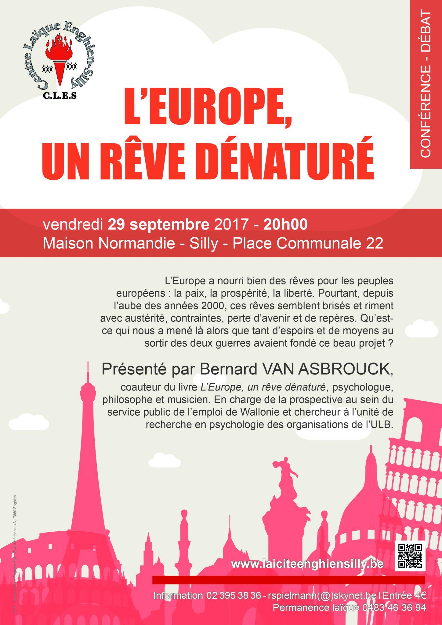 Laïcité Belgique - Centre Laïque Enghien-Silly - Europe