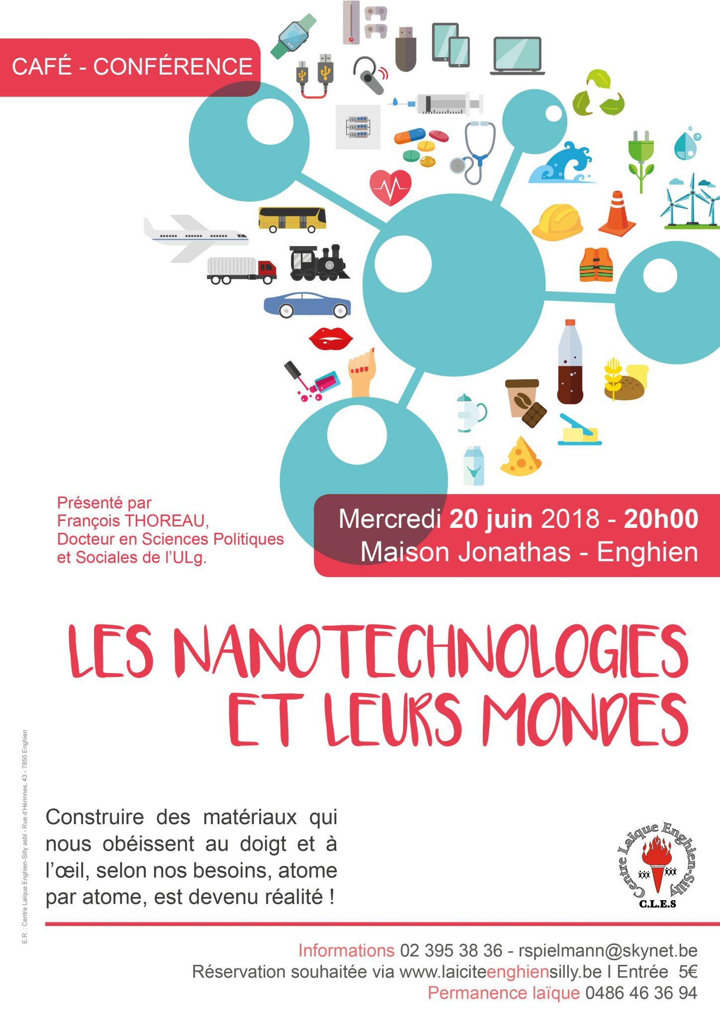 Laïcité Belgique - Centre Laïque Enghien-Silly - Nanotechnologies