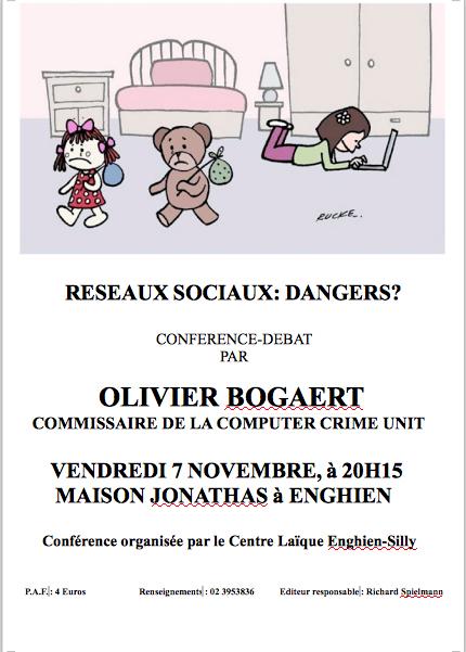 Laïcité Belgique - Centre Laïque Enghien-Silly - réseaux sociaux