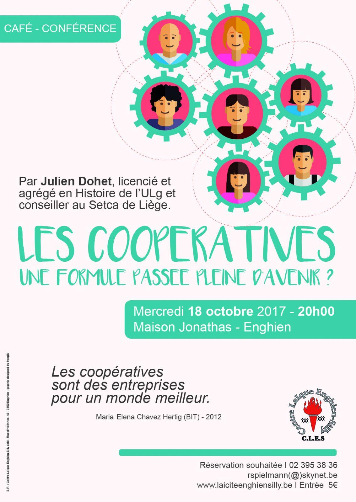 Laïcité Belgique - Centre Laïque Enghien-Silly - Coopératives
