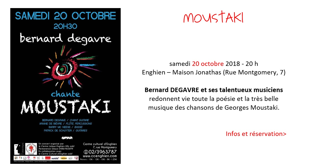Pub 2018 – Moustaki