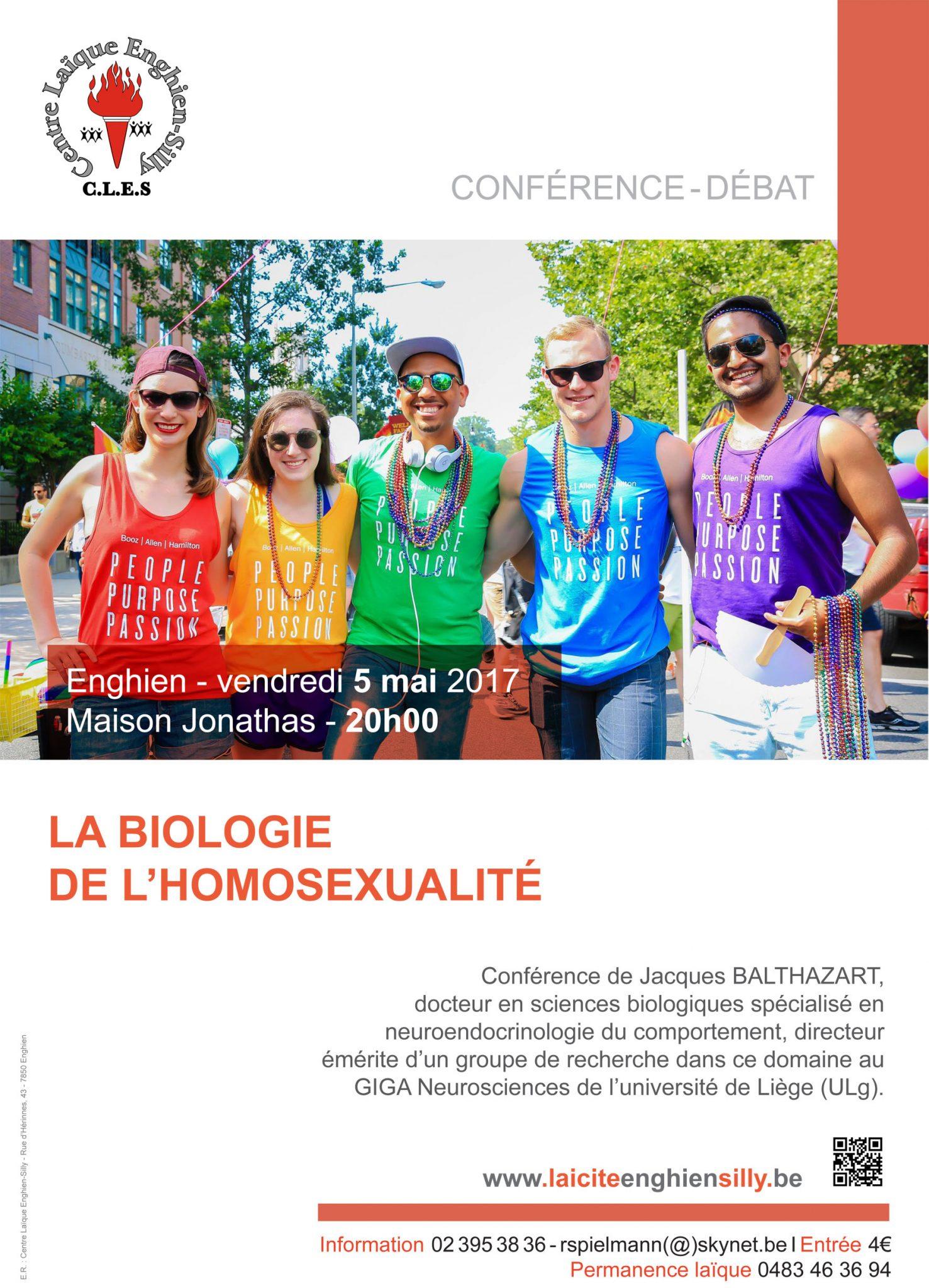 Laïcité Belgique - Centre Laïque Enghien-Silly - Homosexualité